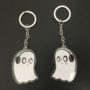 Napstablook keychain photo