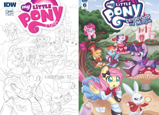 My Little Pony: Legends of Magic #6 RI cover