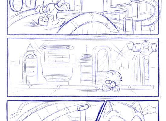 Comic Study: Classic Sonic
