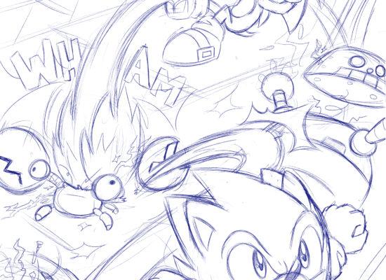 Comic Study: Modern Sonic