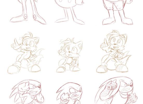 Style Study: Sonic