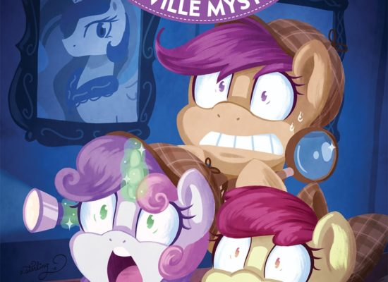 MLP: Ponyville Mysteries #2 RI cover