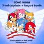 Sonic Mania keychain