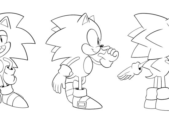 Classic Sonic turnaround