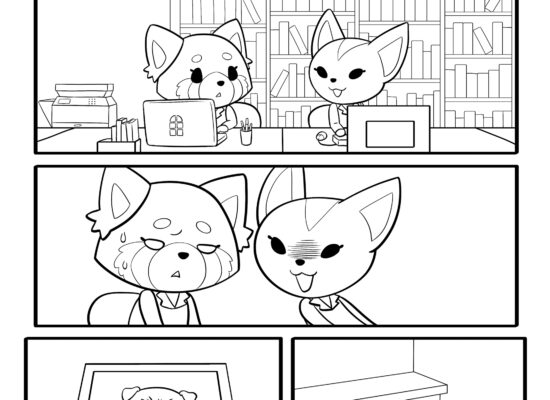 Aggretsuko: Meet Her World #2 pages